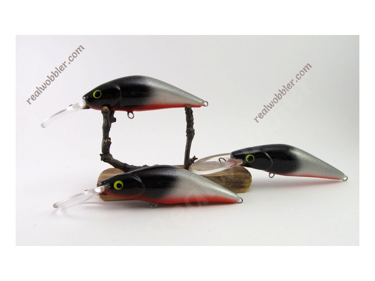 Crankbait Retro Black Head