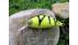 "Handmade Crankbait ""Retro Perch Yellow Fat XS 6"""
