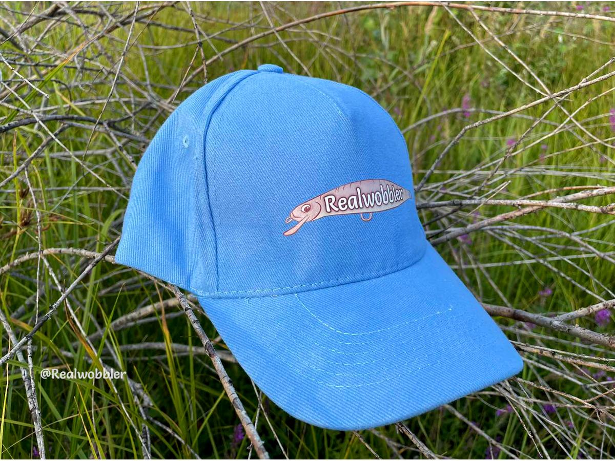 Logo Hat Аzure Blue Color