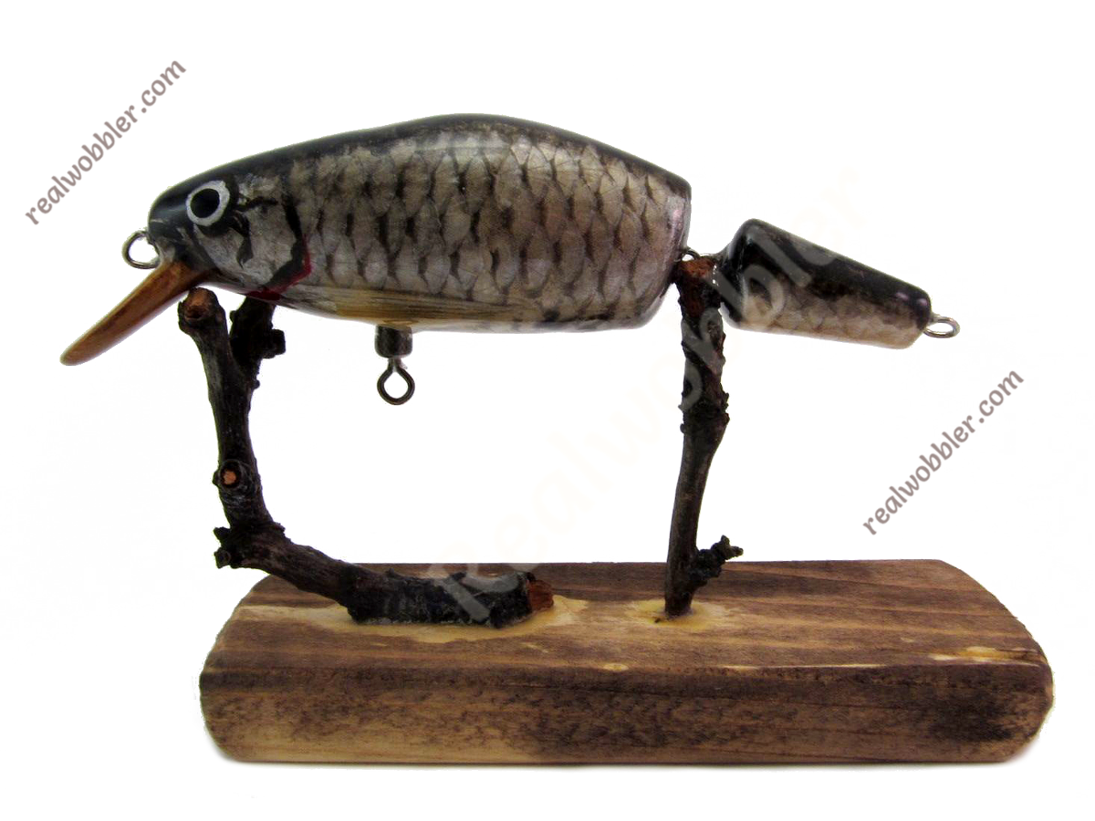 Jointed Lure M with Common Rudd Skin