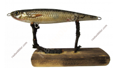 Jerkbait M with Chub Fish Skin