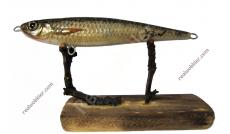 Handmade Jerkbait M mit Döbel-Fischhaut