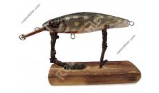 Schlanker Wobbler S mit Hecht-Fischhaut