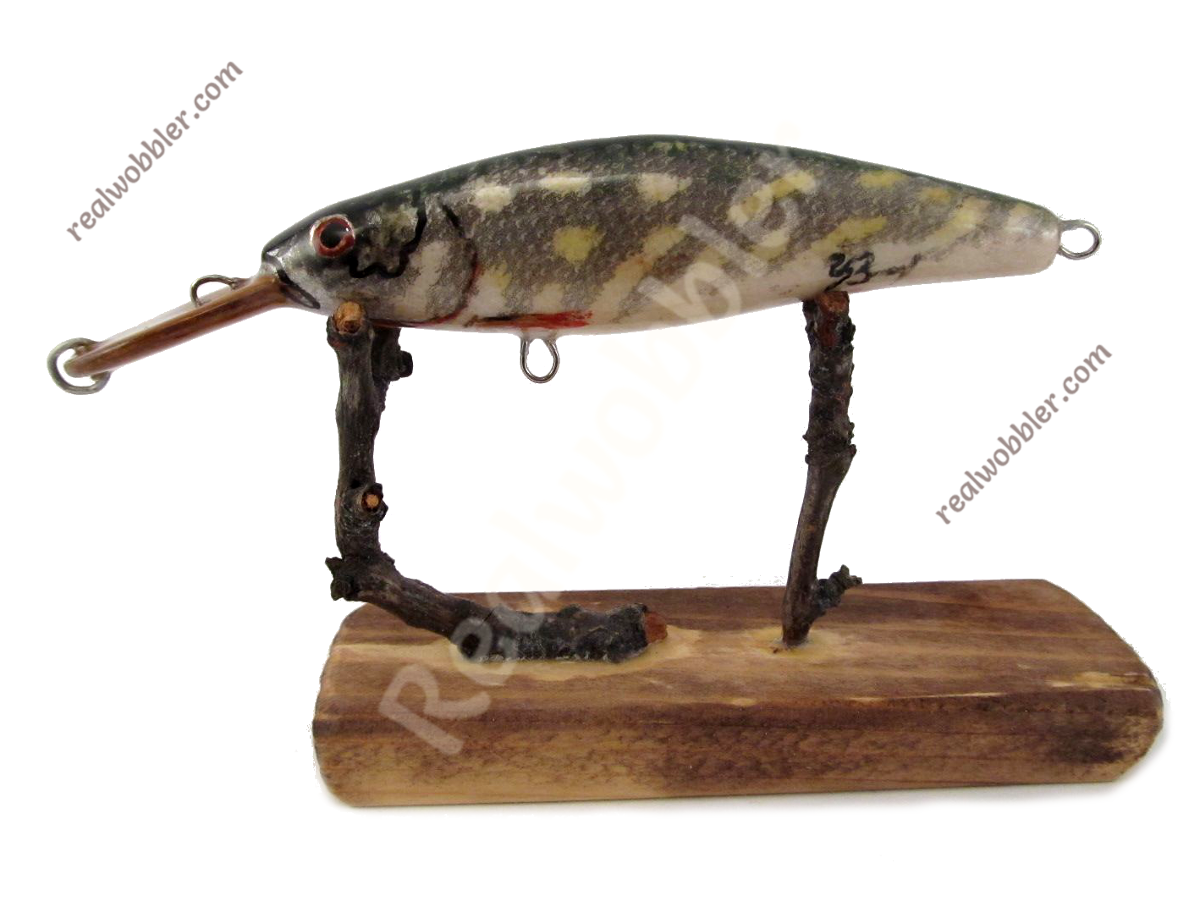 Slim Lure S with Pike Fish Skin