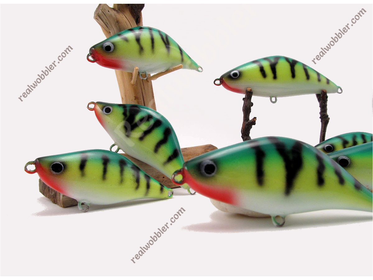 "Wooden Jerkbaits ""Retro Perch"""