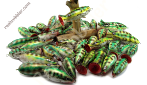 Painted Topwater Lures
