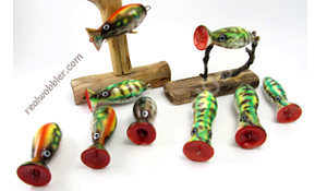 Painted Popper Lures