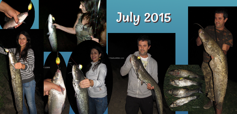 Fishing Results in July 2015 using the Realwobbler Lures