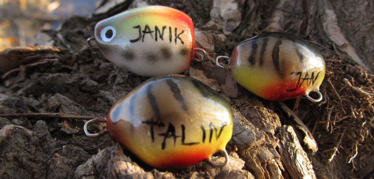 Personalized Wooden Lures