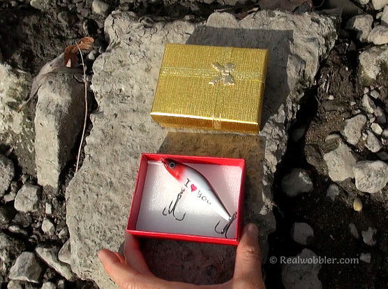 Personalized Lure for Fisherman in Gift Box