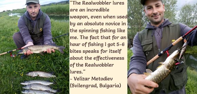 Velizar's Pikes on Realwobbler Skinlure